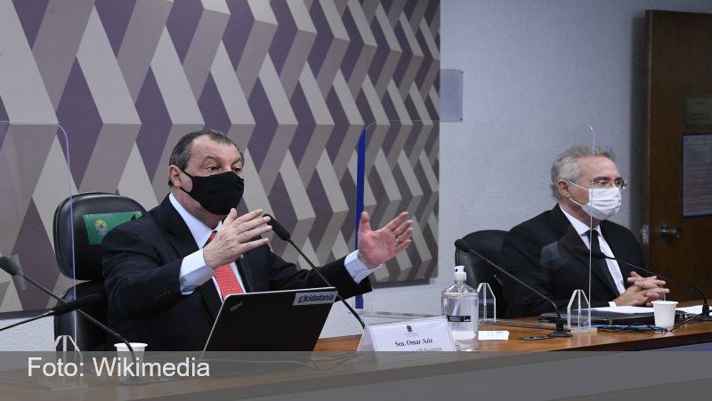 Presidente da CPI diz que vai pedir à Justiça condução de Carlos Wizard à comissão e retenção do passaporte