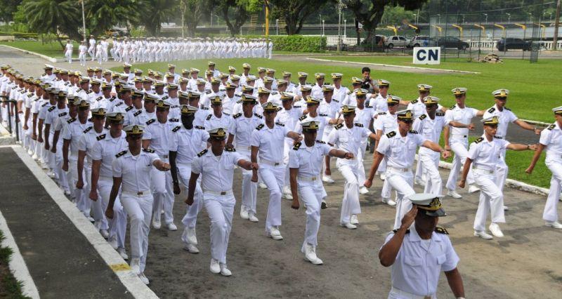 Marinha oferece 190 vagas para ingresso no colégio Naval