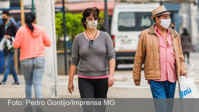 Minas Gerais registra queda em número de surtos de covid-19
