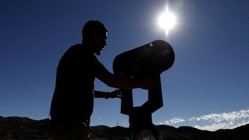 Eclipse solar poderá ser observado hoje na América do Sul