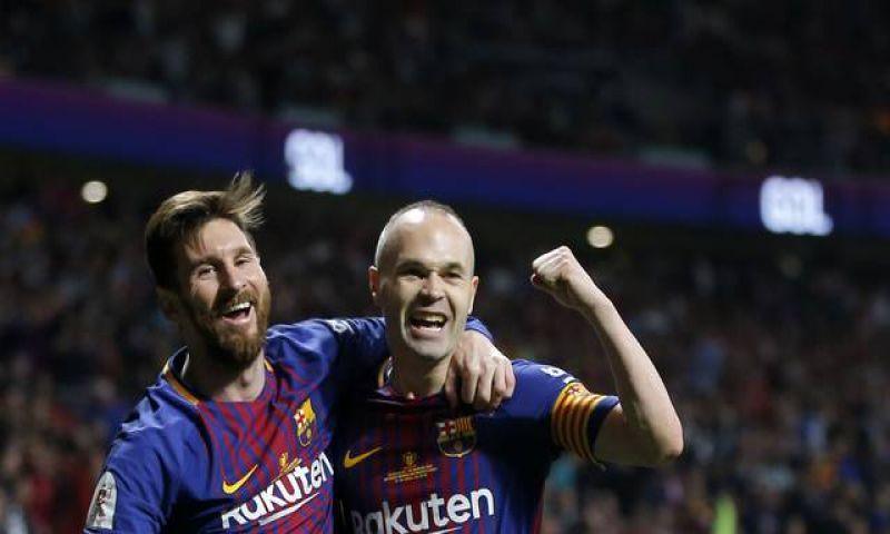 Com show de quarteto, Barcelona trucida o Sevilla e leva o tetra da Copa do Rei