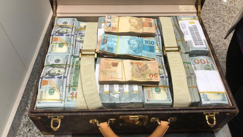 Dinheiro apreendido com a delegação da Guiné Equatorial ficará no Brasil até que se prove sua origem
