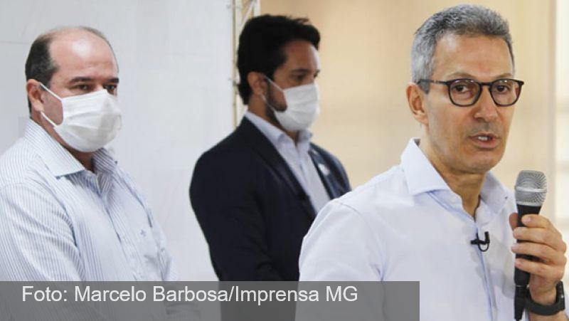 Romeu Zema entrega respiradores e equipamentos em Governador Valadares para auxiliar no enfrentamento à covid-19
