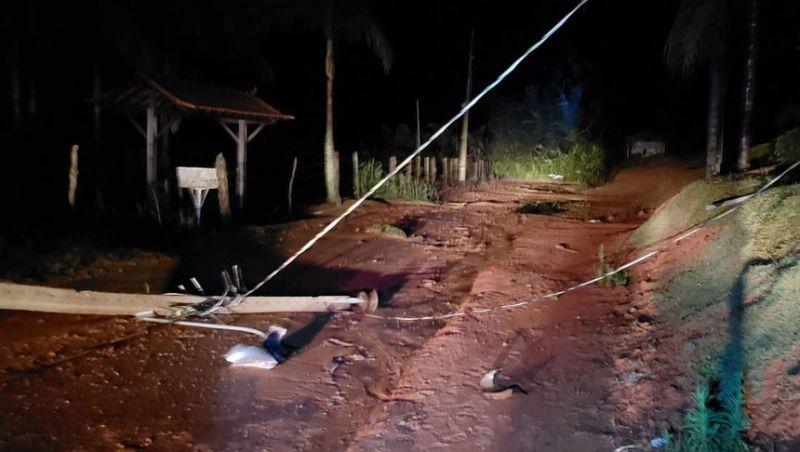 Cemig e Prefeitura de Barbacena trabalham para recuperar áreas afetadas por temporal