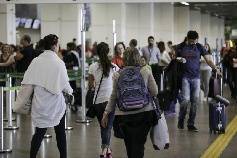Aeroportos devem receber 8,28 milhões de passageiros em julho