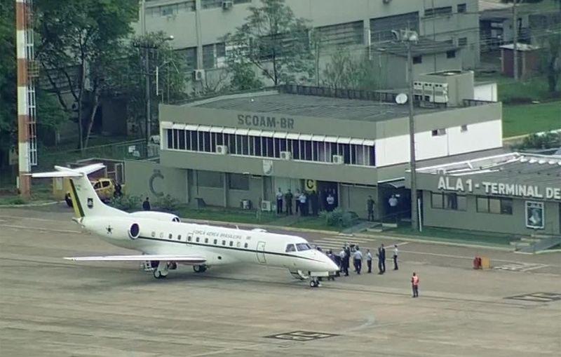 Bolsonaro chega a Brasília pela primeira vez depois de eleito