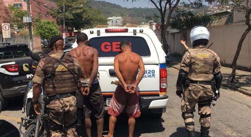 Suspeitos de Homicídio em JF são presos