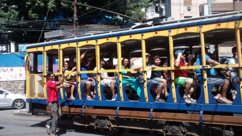 Bonde de Santa Teresa, no Rio, tem funcionamento suspenso
