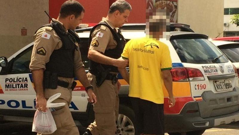 Homem é preso em flagrante após tentar furtar peça de picanha em supermercado de Muriaé