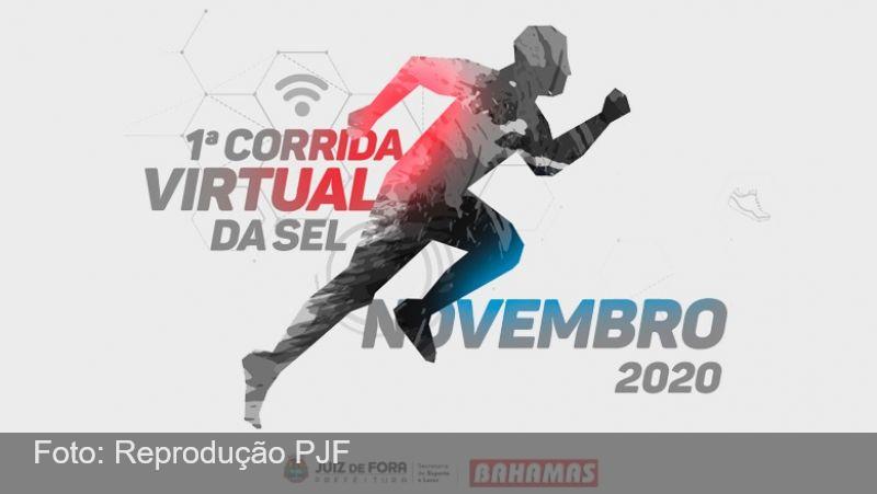 """""""1ª Corrida Virtual"""" da Secretaria de Esporte e Lazer de JF está com inscrições abertas"""
