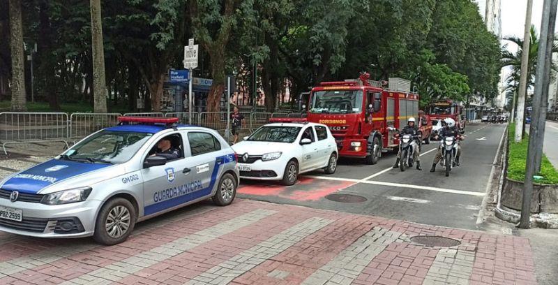 """""""Fique em Casa"""" - Forças de segurança levam alerta à população juiz-forana"""