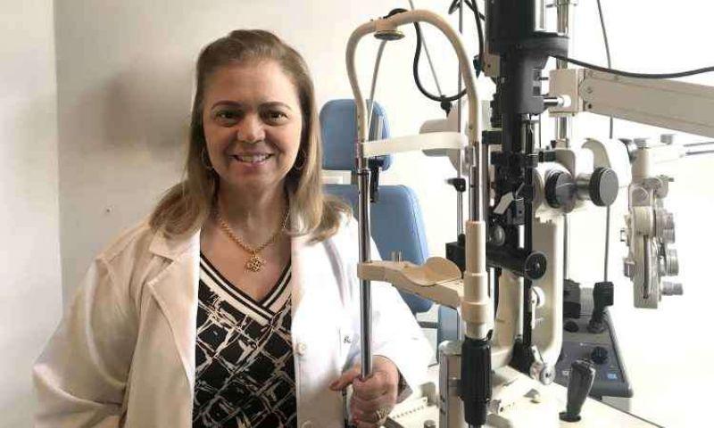 Consultas com o oftalmologista devem ser feitas periodicamente para garantir boa visão