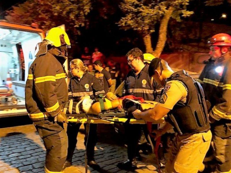 Dois acidentes marcam a noite de sábado em Cataguases