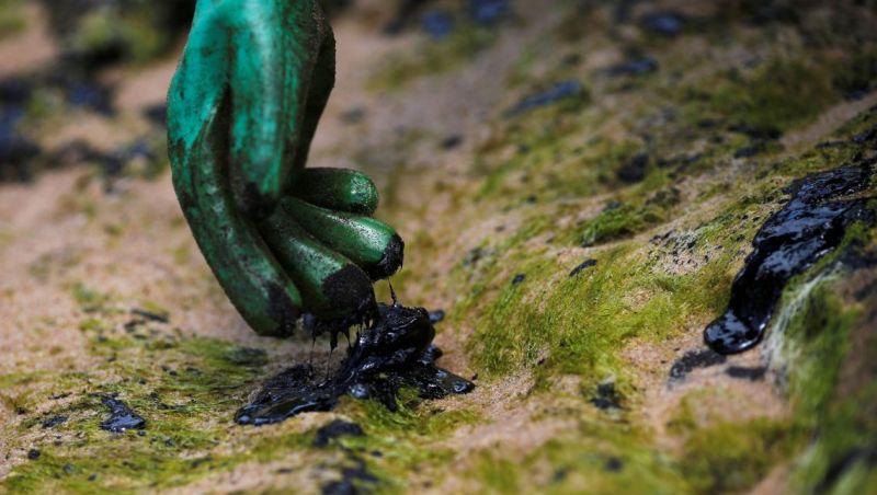 Amostras de óleo de três municípios do Rio são enviadas para análise