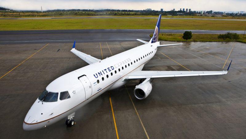 Embraer assina contrato de venda de 39 aviões para United Airlines