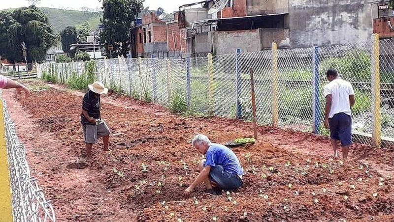 Horta Comunitária no entorno de ferrovia será inaugurada em Juiz de Fora