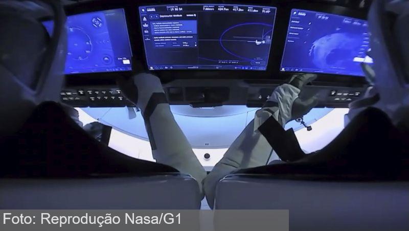 Astronautas da SpaceX preparam volta à Terra hoje