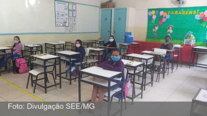 MG: Mais escolas estaduais voltam a receber os alunos na próxima segunda-feira (12/7); veja a lista
