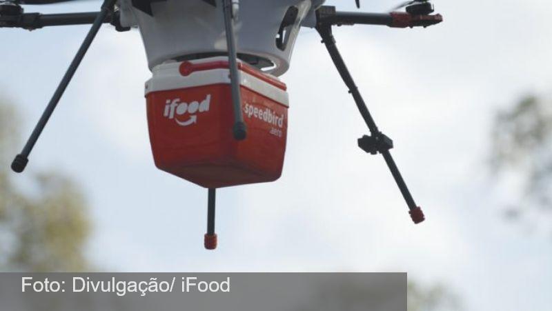 iFood testa entregas por drones em Campinas