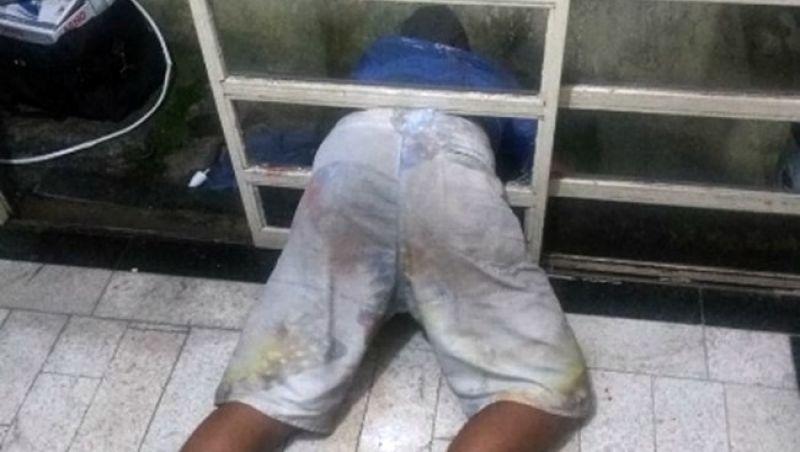 Ladrão bêbado fica entalado em porta e acaba preso em BH