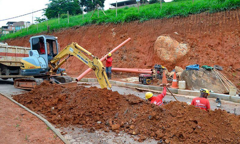 Cesama inicia remodelação de redes de esgoto no Bairro Previdenciários em JF