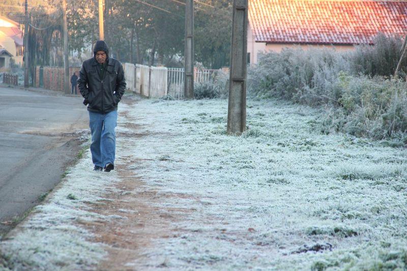 Inmet publica alerta devido à queda de temperatura na Região Sul