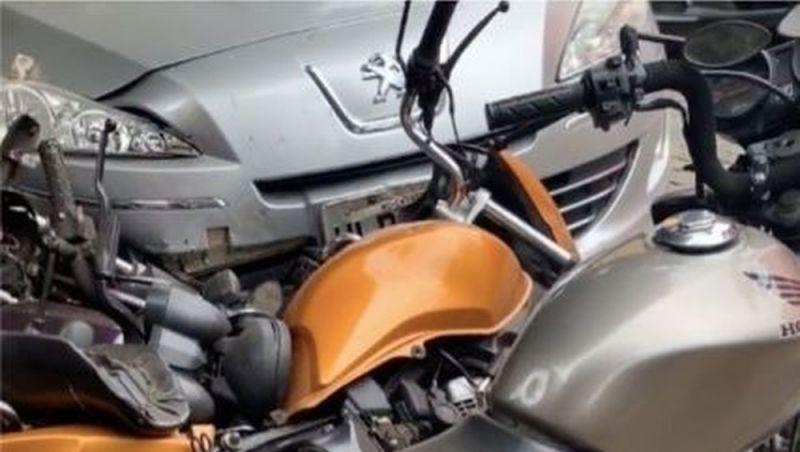 Acidente envolve nove veículos em Cataguases