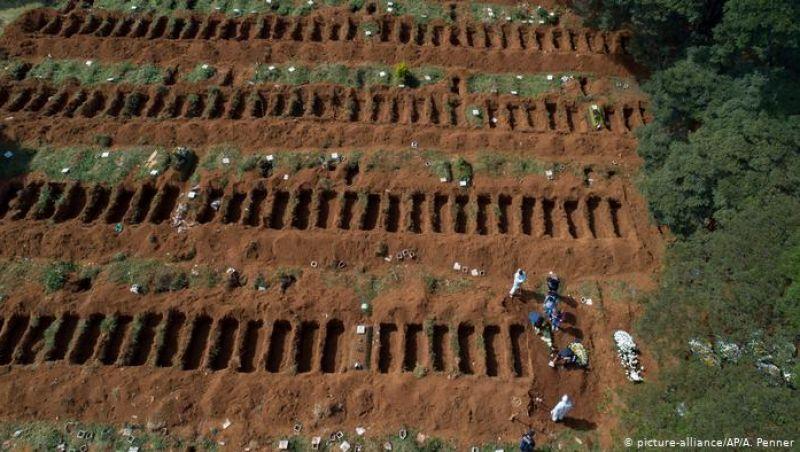 'Não é normal', dizem coveiros sobre trabalho em cemitérios de São Paulo