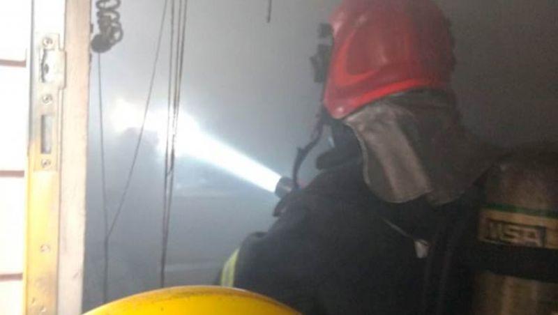 Parte de imóvel pega fogo no Marumbi em JF