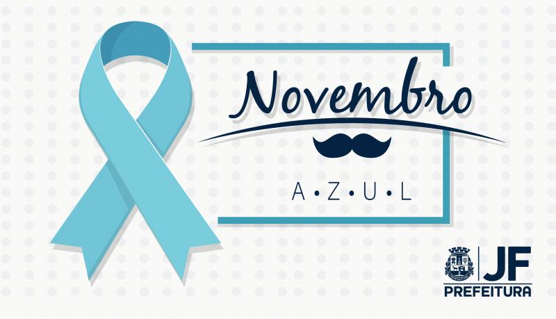 'Azul' é a cor de novembro que tem a saúde do homem como tema preferencial nas UBSs de JF