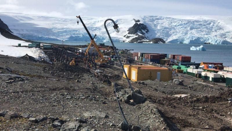 Obra em estação na Antártica será concluída sete anos após incêndio, prevê Marinha