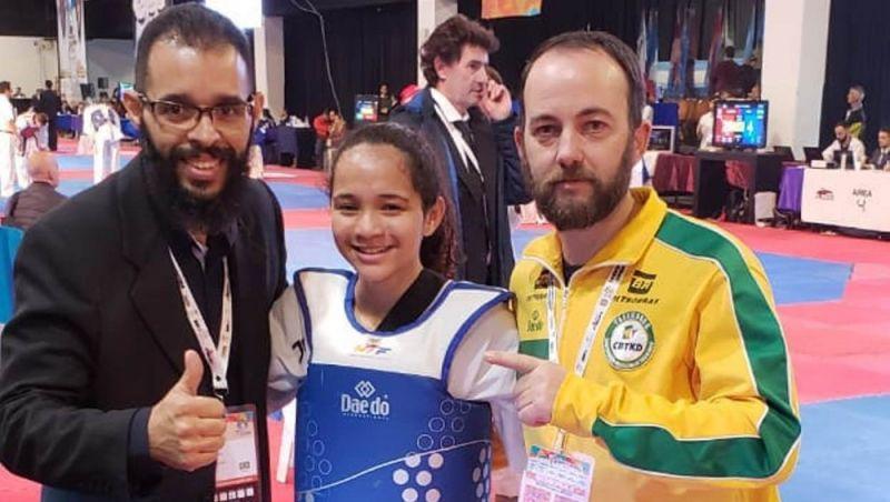 Lutadora juiz-forana conquista ouro inédito no Aberto da Argentina