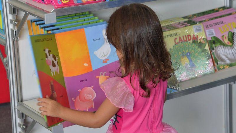 Crianças terão atendimento especial na Bienal Internacional do Livro