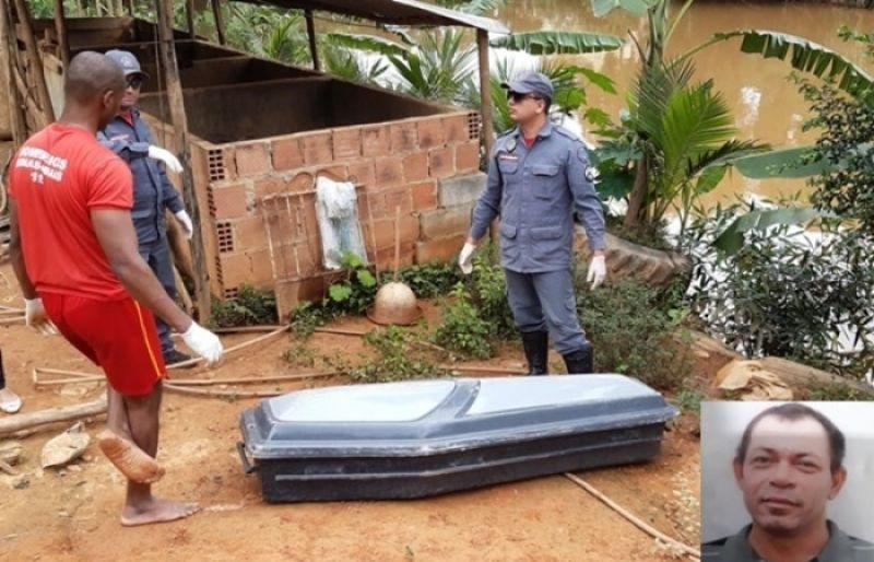 Corpo de homem é encontrado em rio de Muriaé