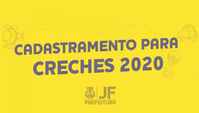 Cadastramento em creches para 2020 começa na segunda-feira em JF