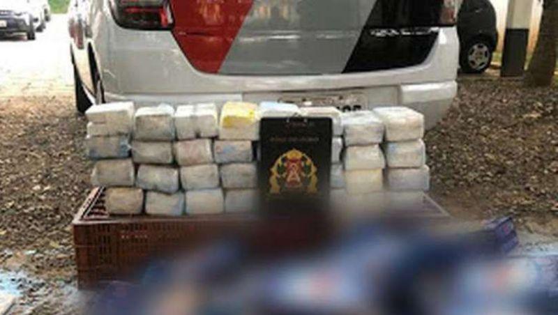 Homem compra caixa de sabão em pó em mercado e acha cocaína na embalagem
