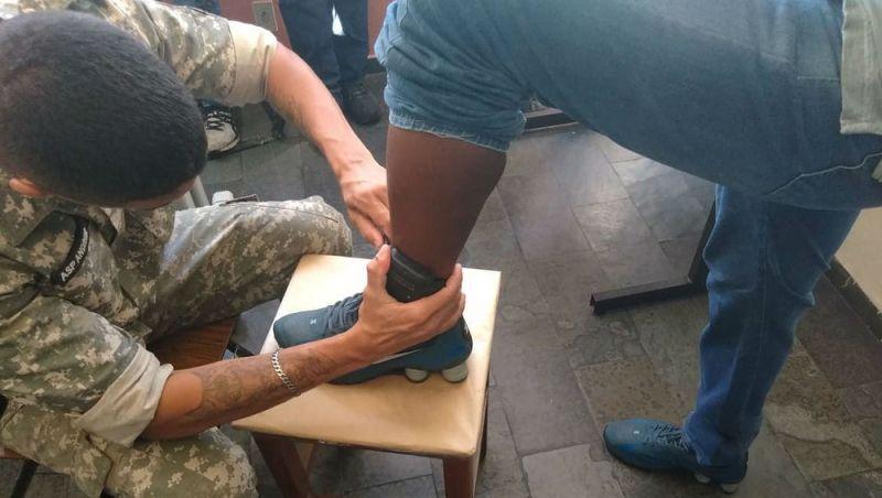 Preso em Juiz de Fora recebe tornozeleira eletrônica