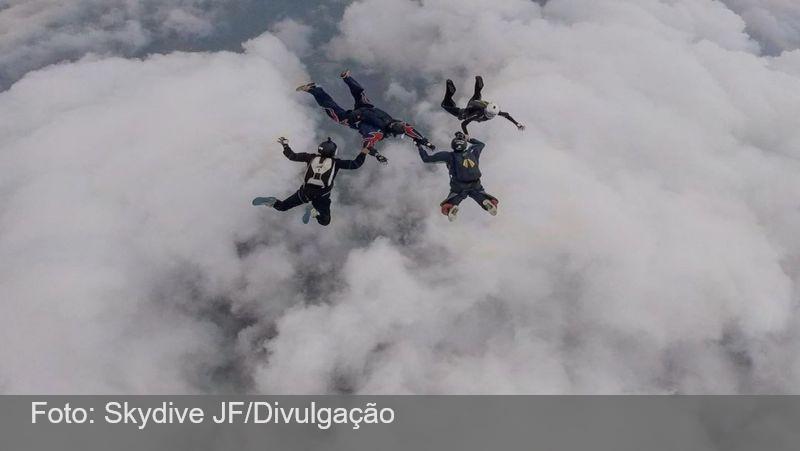Juiz de Fora sedia Campeonato Mineiro de Paraquedismo