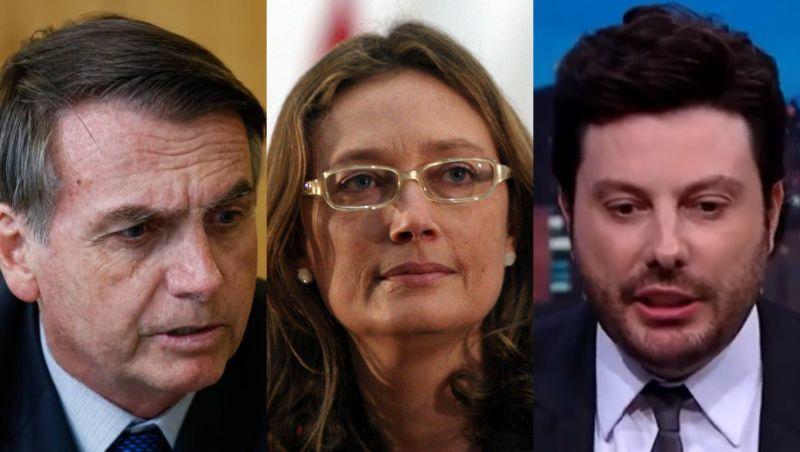 Danilo Gentili se diz 'honrado' após receber apoio de Bolsonaro
