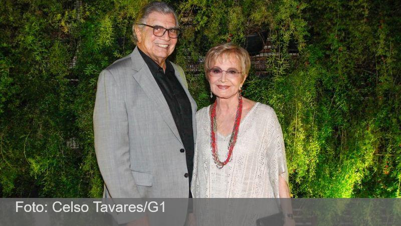 Tarcísio Meira e Glória Menezes são internados em SP com Covid-19