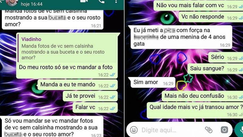 Mãe ajuda a prender suspeito de pedofilia na Bahia usando WhatsApp da filha