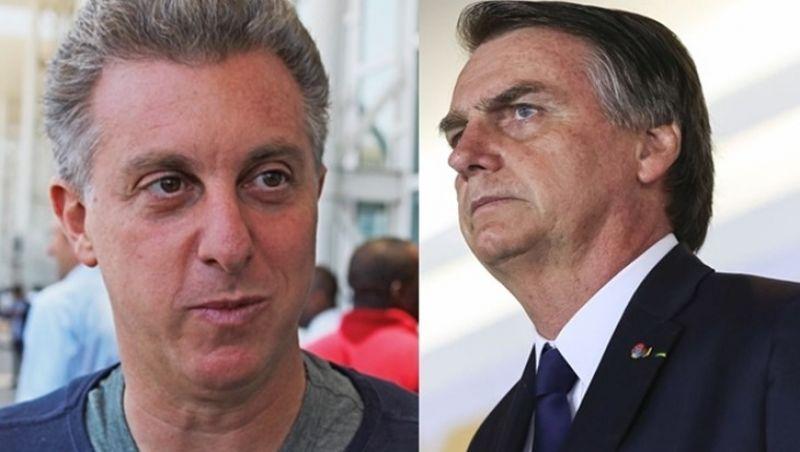 Bolsonaro reage a fala de Huck e cita compra de jatinho