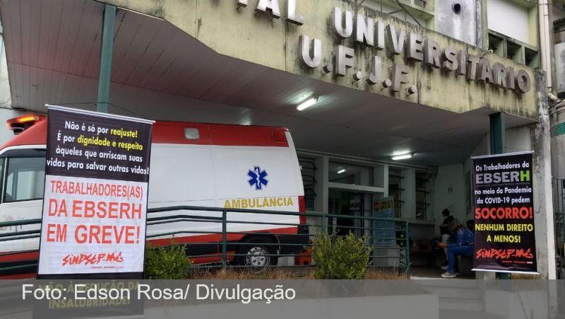 Justiça determina retorno de 80% dos trabalhadores da Ebserh no HU-UFJF