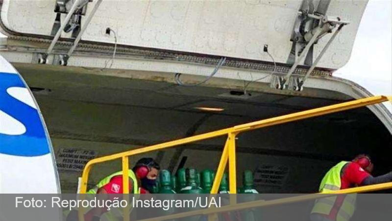 Cantor Gusttavo Lima freta boeing para enviar oxigênio para Manaus
