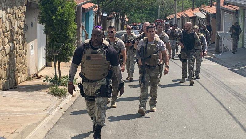 Roubo em Viracopos: atirador da PM mata homem que tinha feito mãe e bebê reféns por 2 horas