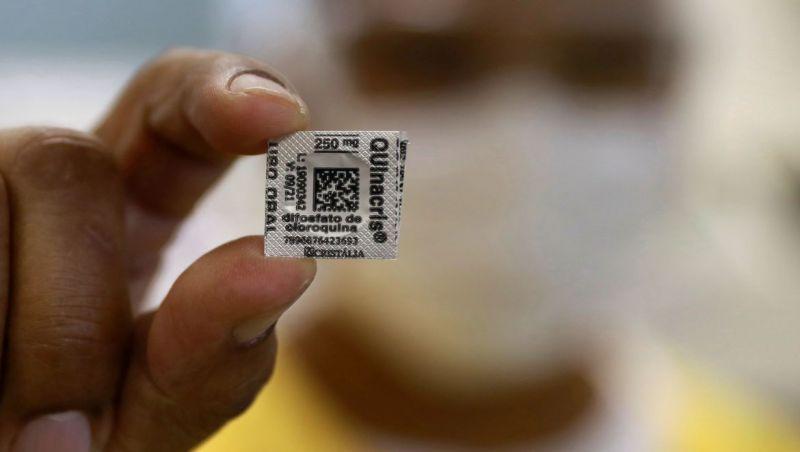 Brasil recebe dois milhões de doses de hidroxicloroquina dos EUA