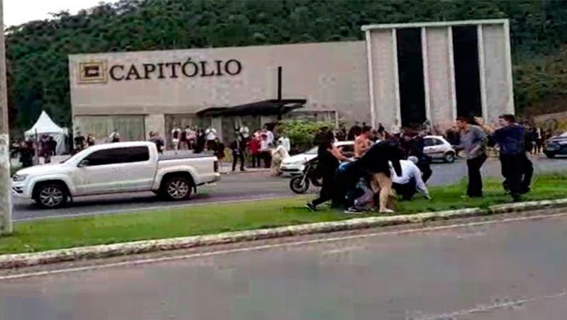 PM registra briga em saída de festa de formatura em Juiz de Fora
