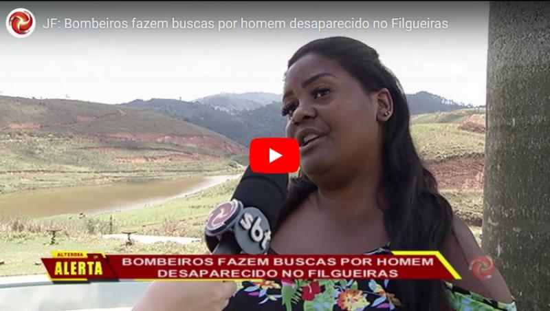JF: Bombeiros fazem buscas por outro homem desaparecido no Filgueiras