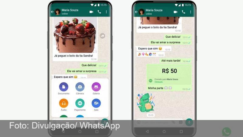 Transferência de dinheiro pelo WhatsApp começa a funcionar; veja como usar