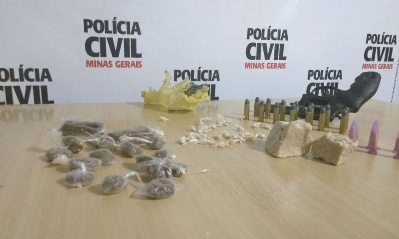 Polícia Civil prende suspeitos de homicídios e tráfico de drogas em Guarani, MG